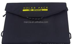 Foldable dual port solar panel 10W