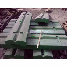 crusher spares crusher wear parts impact plates