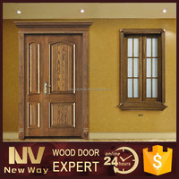 mom and son main entry china imported composite wood door model