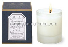 Natural Soy Wax Holiday Candle in glass