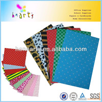 Colorful printed EVA foam sheet/Glitter Foamy with custom design Pattern