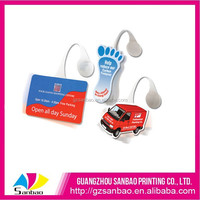 China Supplier Oem Hard PVC PP Plastic Design Supermarket Advertising Dangler