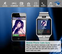 smart watch 2015 new technology luxury digital TFT touch screen DZ09 sim card shenzhen smart watches mobile phone smart watch