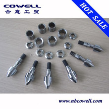screw and barrel for plastic machine/screw and barrel for plastic granulator/screw tip
