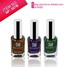 colourful chameleon effect nail cosmetics nail polish for make up and beauty