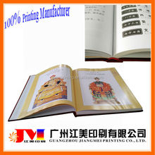 China factory fast delivery full color printing hardcover cook book