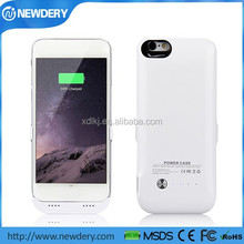 China manufacturer 6000mah external Battery Case Charger For IPhone 6