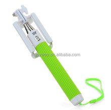 Good Quality Folding Mobile Timer with Bluetooth Selfie Stick for Android IOS Smart Phone