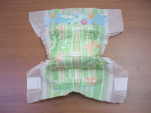 cheap soft cotton free sample sleepy baby diaper made in china