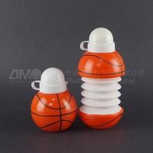 Forme de basket - ball bouteille en plastique, Sortes de balle bouteille, Pliage bouteille d'eau