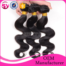 Fashion 2015 Body Wave Braiding Hair, Wholesale Body Wave Unprocessed Indian Hair Weaving