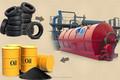 Famosa de China compañía para antigua neumático del neumático de goma de reciclaje de extremo a extremo de la máquina de aceite