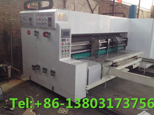 model corrugated carton box rotary die cutting making machine other packaging machine