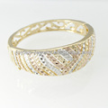 la moda de joyería de fantasía brazaletes de oro modelos b1361 cubierta de oro brazaletes