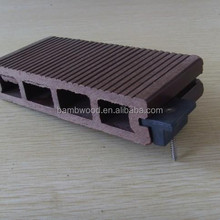 Black WPC Accessories Floor Clip Natural Feel with CE ISO SGS Images