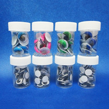 Handmade Pack of 6 moveable in Tubs DIY Wiggle Eyes
