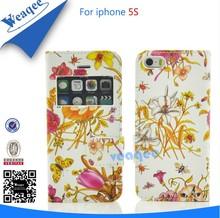 dos teléfonos móviles funda de cuero para el iphone