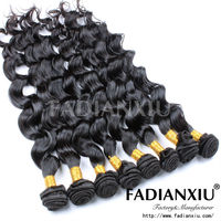 Top quality grade AAAA+ natural color unprocessed 100 pure remy hair extension