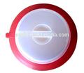 recipiente hermético de plástico placa de placa de topper la tapa fresca