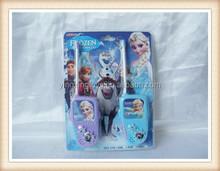 plastic frozen design electric interphone toy,kid toy walkie talkie