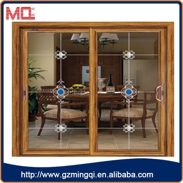Aluminum Alloy Sliding Door Standard Sliding Glass Door