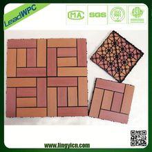 heat resistant safe wpc decking vinyl floor tiles/tile flooring