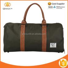 Backpack Men Vintage Canvas Leather Hiking Travel Tote Messenger Bag