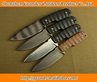 Four colors 9Cr13 Steel Chef Kitchen Knife 59HRC Outdoor Survival hunting knife 5199