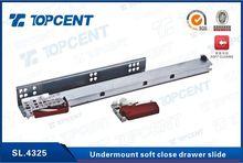 SL.4325 300mm-550mm Soft closing full extension undermount drawer slide