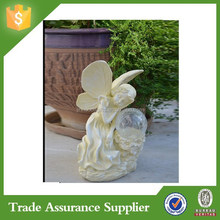 Resin Fairy With Welcome Sign Home Goods Garden Statue