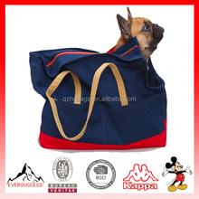 Newly Designed 2016 Model canvas dog carrier Canvas Pet Tote(ES-Z345)