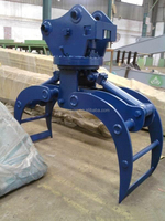 Case excavator hydraulic wood grapple for CX210 CX240