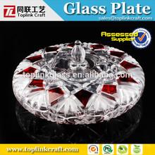 novo design da marca de doces de frutas de vidro placas