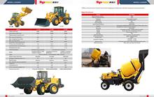 RDCM350 -11DHB mini self loading mobile concrete mixer