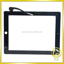 YLX 100% gurantee original New For ipad 3 glass touch screen panel for ipad 3 digitizer for ipad 3