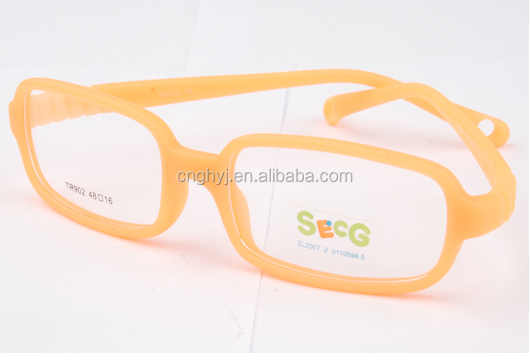 2015 Newest Design Kids Rubber One-mold Eyeglasses Frames ...