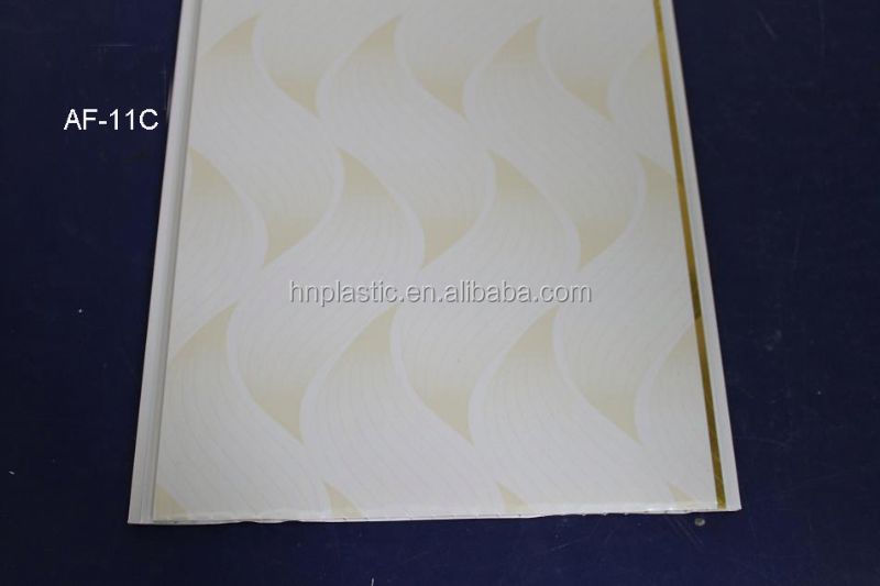 Inner Decorative Plastic Ceiling Plastic Ceiling Tile Pvc Ceiling Panel CY15A