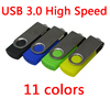 Promotional Gifts Customized Logo cheap Usb 3.0 swivel metal usb flash drive