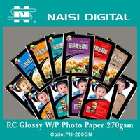 260g Lucky RC Inkjet Glossy Photo Paper