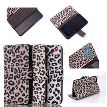 for Apple iPhone 6 4.7 inch Leopard print Cell Phone leather case