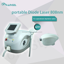 Portable 808 diode laser hair removal machine, professional salon model