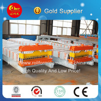 Corrugated tile/Corrugated sheet metal roof roll forming machine exporter