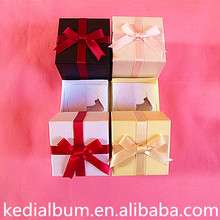 Children 3x3 paper gift box and pottery packaging paper box