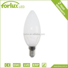 3w 4w 5w c37 e14 led bulb, led candle bulb