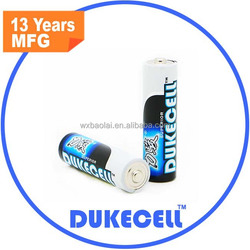Zn/MnO2 Battery Type and 1.5V Nominal Voltage China AA AAA alkaline battery