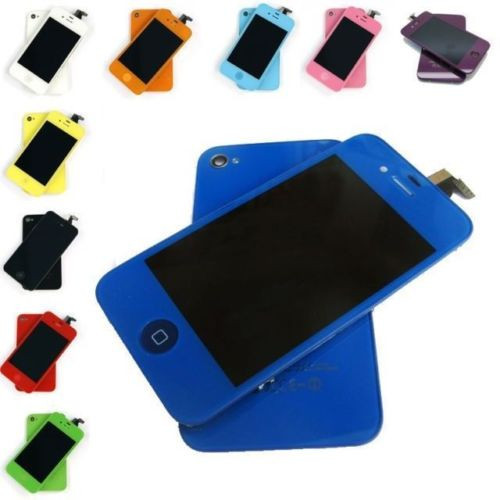 Новые комплекты конверсия сенсорный экран планшета ЖК Ассамблеи для iphone 4s 4 g 4 ЖК экран с задней крышкой