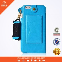 PU leather custom cheap mobile phone case for iphone 6