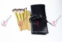 Designer exported synthetic hair 8pcs best set of makeup brushes