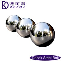 shiny polished surface large hollow stainless steel gazing ball
