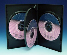 3Way Premium Cover Blu Ray CD DVD Case Holds 3 Discs Pack 1